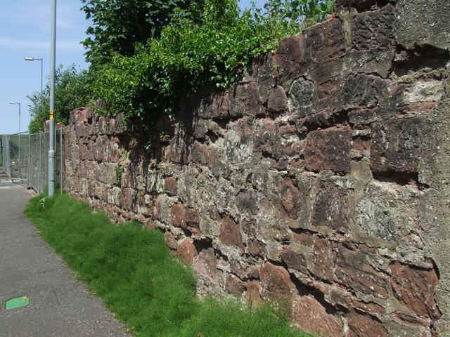 Old shipyard boundary wall