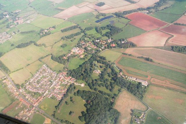 Ingoldisthorpe, aerial 2013