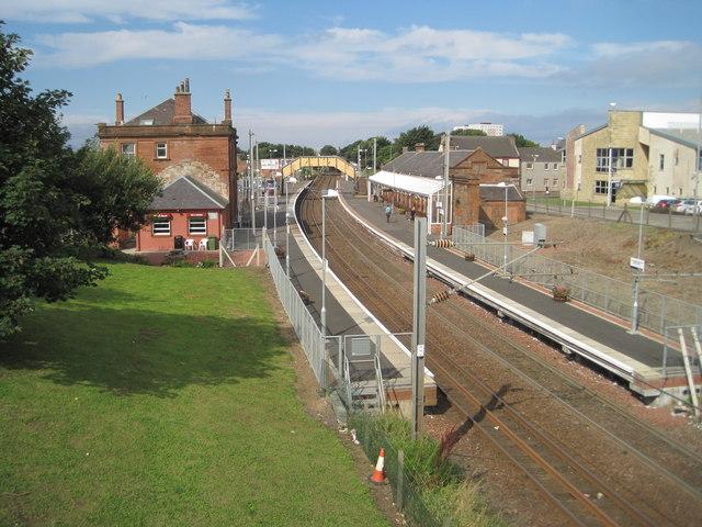Saltcoats railway station, Ayrshire