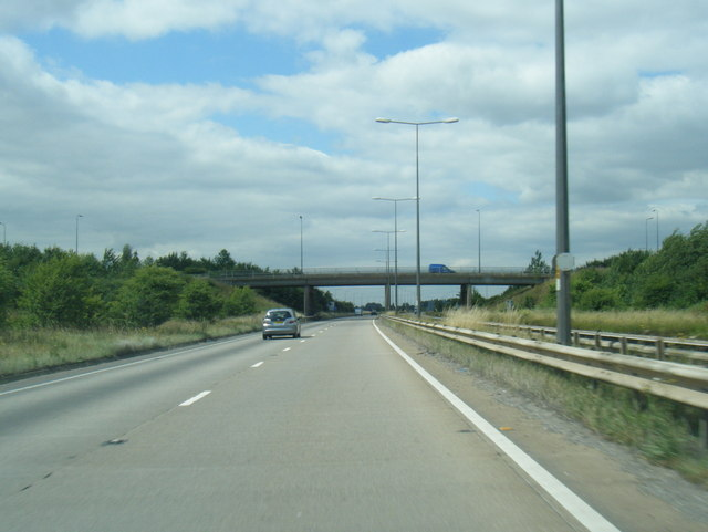 A180 at Great Cotes Interchange