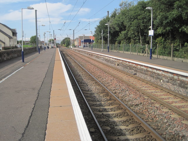 Stevenston railway station, Ayrshire