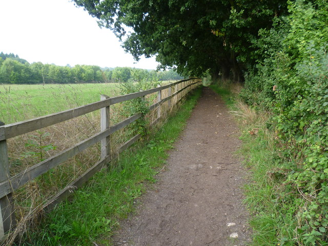 Bridleway on the edge of Chessington