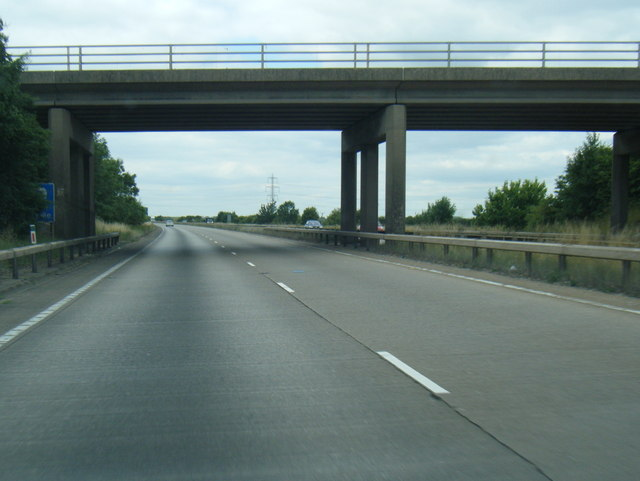 A180 passes under South Marsh Road