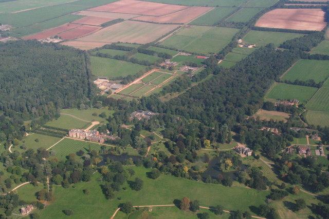 Sandringham Estate, aerial 2013