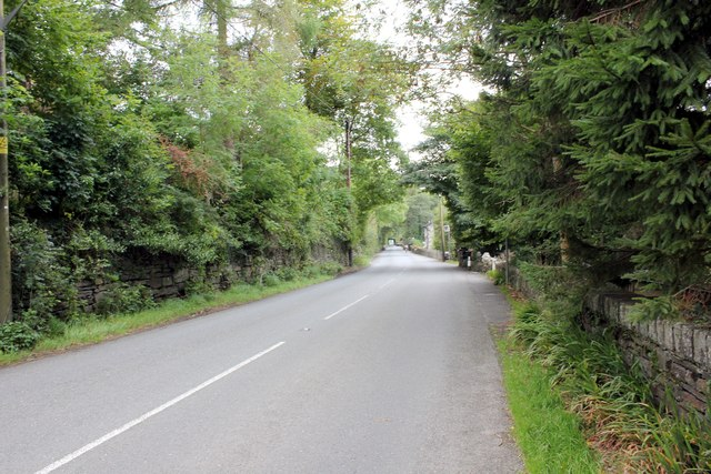 The A496 at Rhyd-y-sarn
