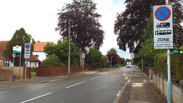 Hertfordshire/Greater London boundary, Northwood