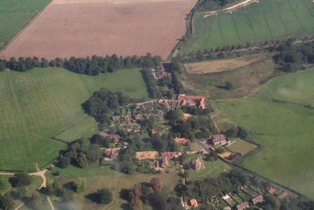 West Newton, aerial 2013