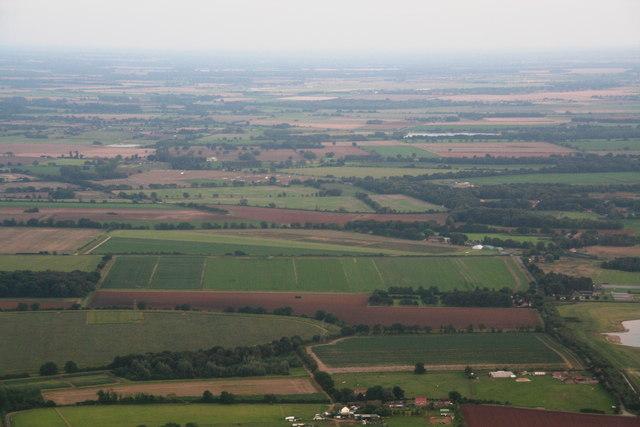 East Winch airstrip: aerial 2013