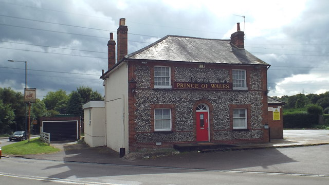 Former Prince of Wales pub, Batchworth Heath