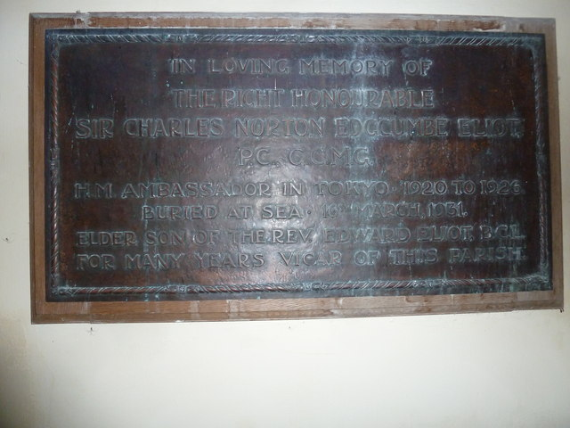 All Saints, Norton Bavant: memorial (5)
