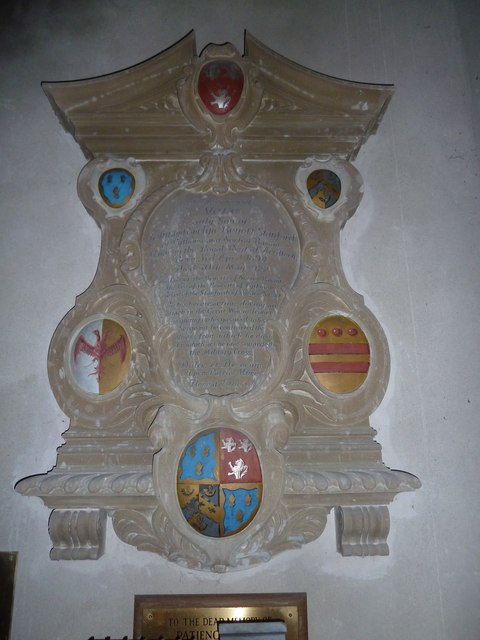 All Saints, Norton Bavant: memorial (12)