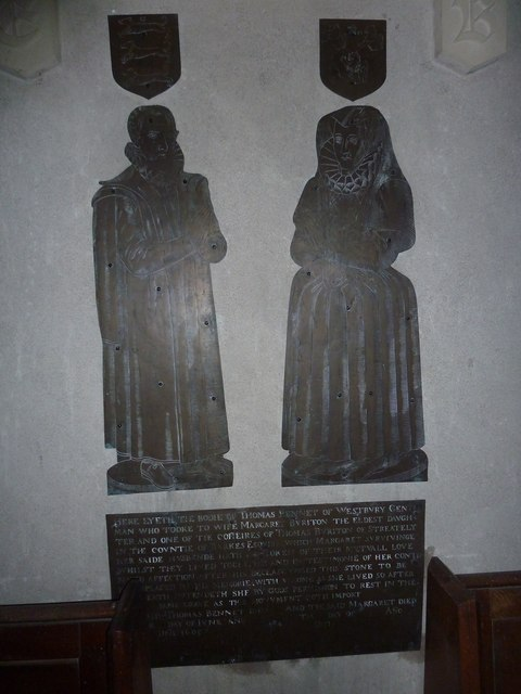 All Saints, Norton Bavant: memorial (13)
