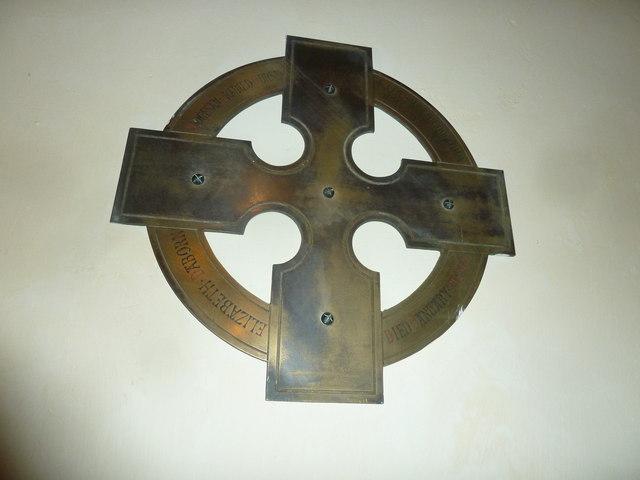 All Saints, Norton Bavant: memorial (18)