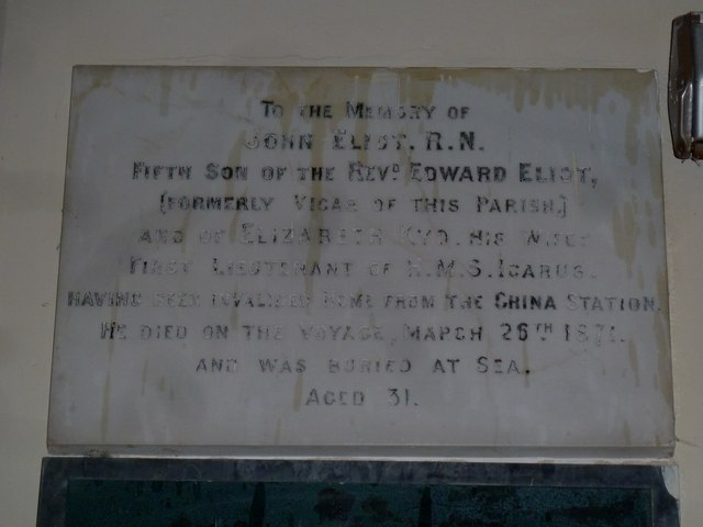All Saints, Norton Bavant: memorial (19)