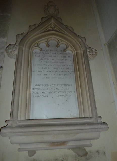 All Saints, Norton Bavant: memorial (23)
