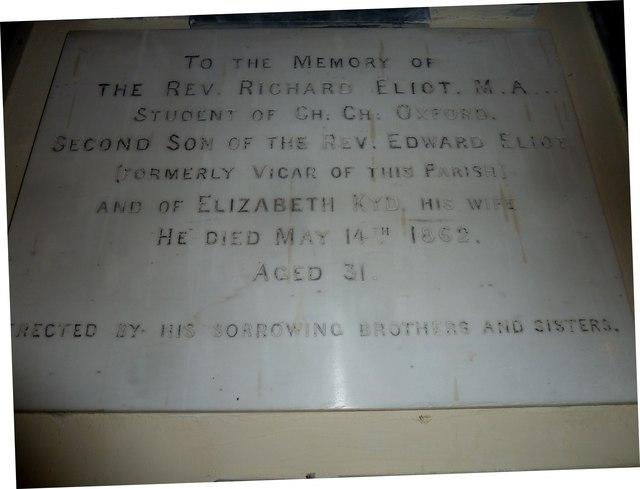 All Saints, Norton Bavant: memorial (25)