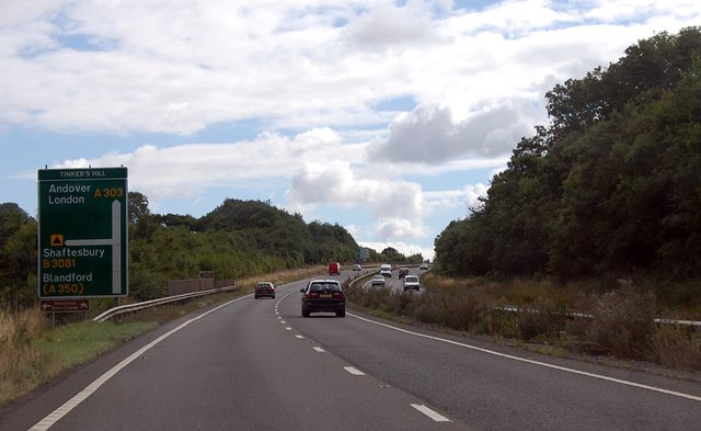 A303 at Tinker's Hill