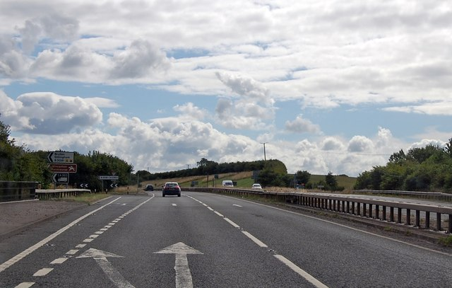 A303 junction with B3081
