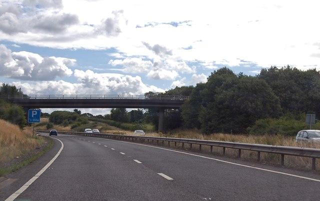 A303 West Bourton road bridge