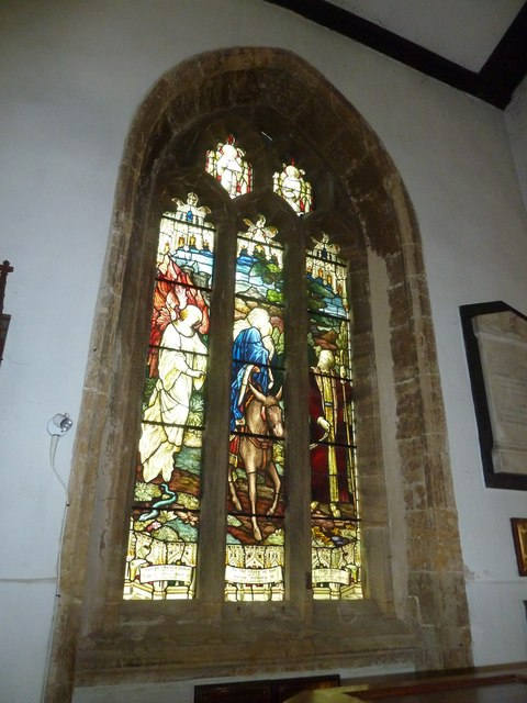 St Mary, Bridport: stained glass window (a)