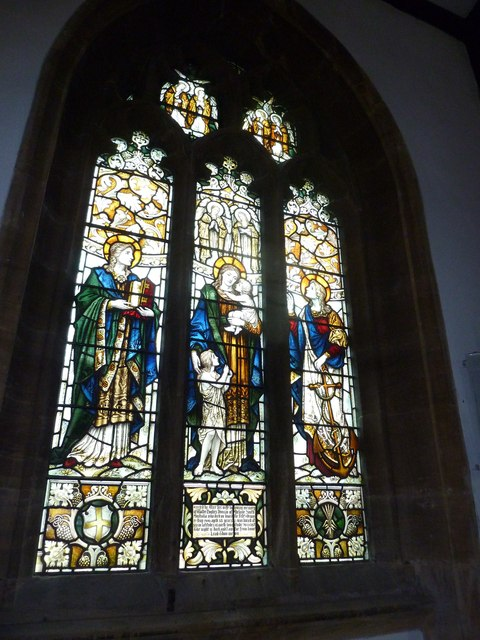St Mary, Bridport: stained glass window (i)