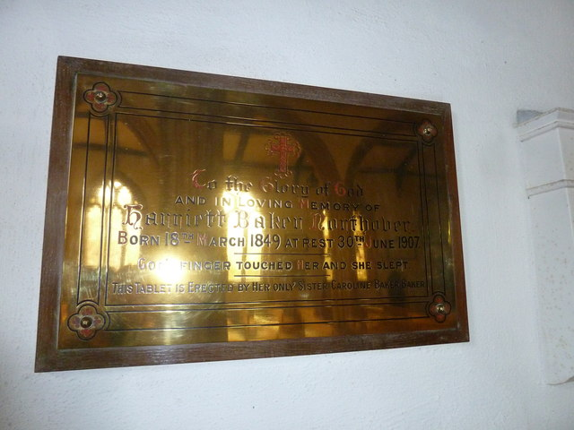 St Mary, Bridport: memorial (III)