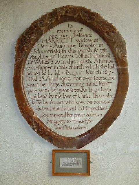 St Mary, Bridport: memorial (V)
