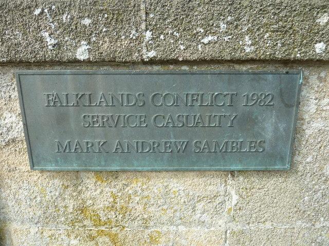 St Mary, Bridport: memorial (XVII)
