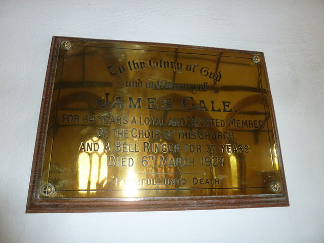 St Mary, Bridport: memorial (XX)