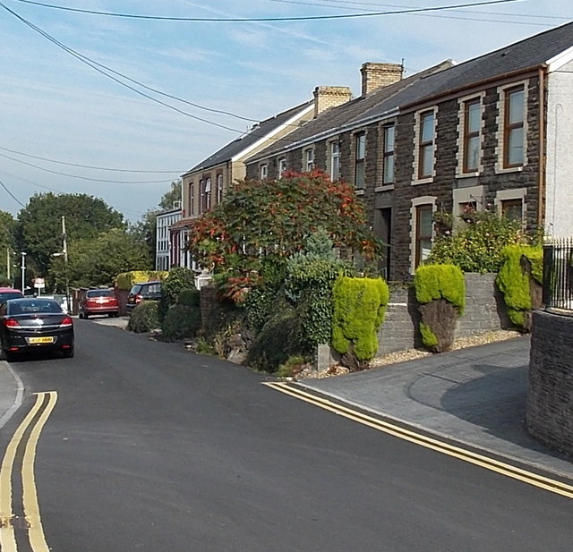 Station Road houses, Gowerton