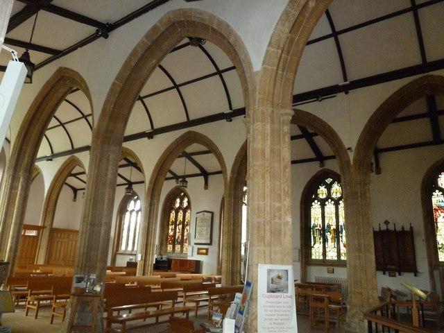 Inside St Mary, Bridport (i)