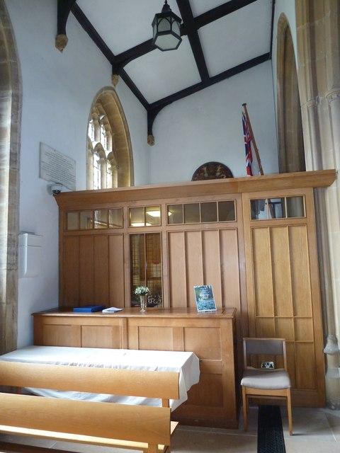 Inside St Mary, Bridport (ii)