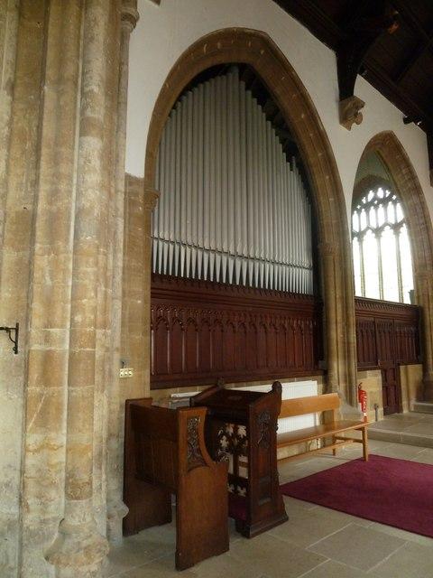 Inside St Mary, Bridport (iii)