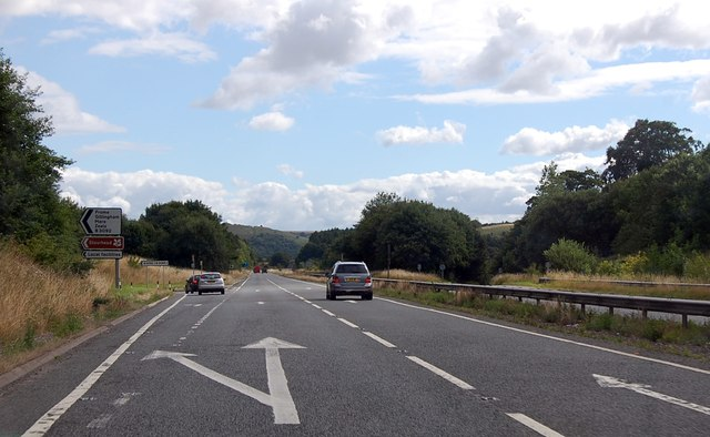 A303 junction with B3092
