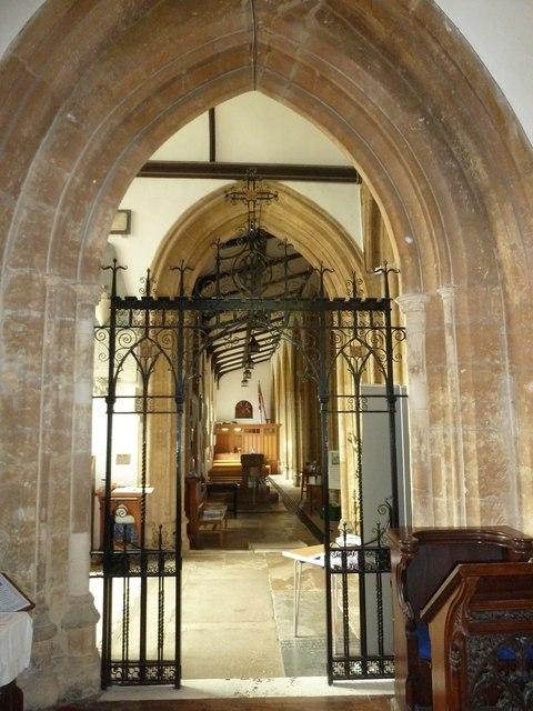 Inside St Mary, Bridport (vi)
