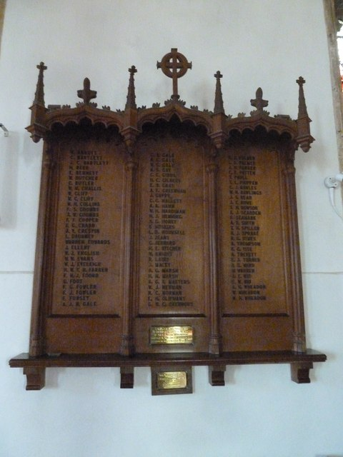 St Mary, Bridport: war memorial