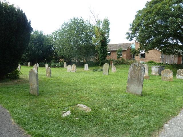 St Mary, Bridport: churchyard (1)