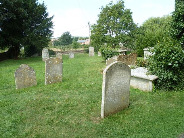 St Mary, Bridport: churchyard (2)