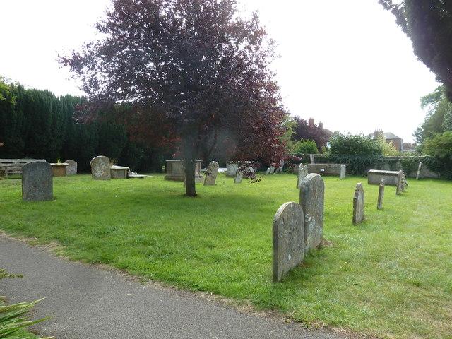 St Mary, Bridport: churchyard (4)