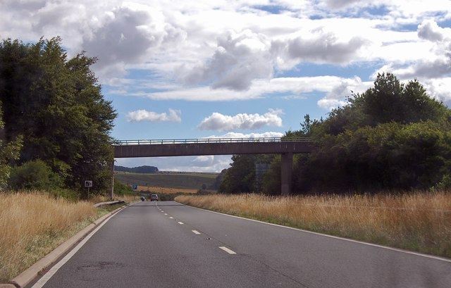 A303 approaching Mere by-pass
