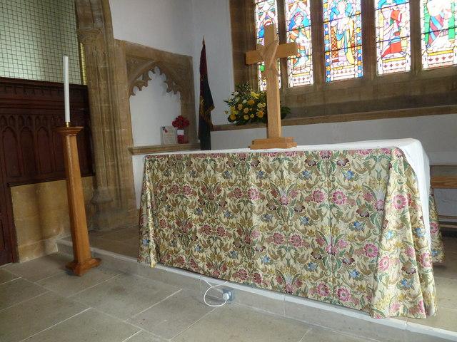 St Mary, Bridport: main altar