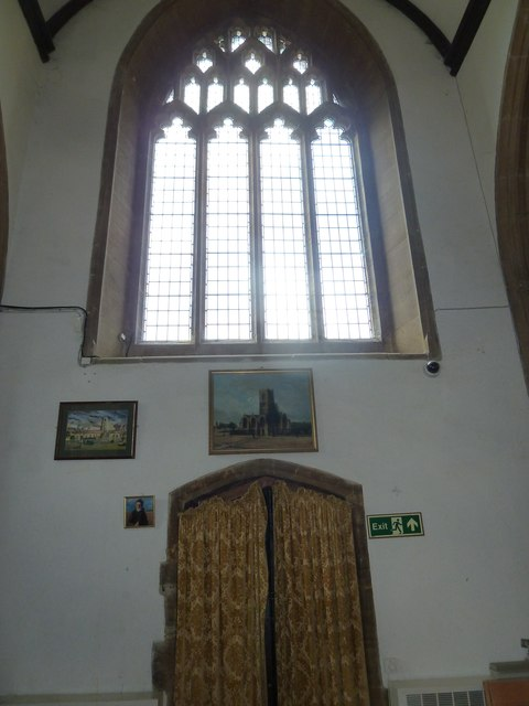 Inside St Mary, Bridport (viii)