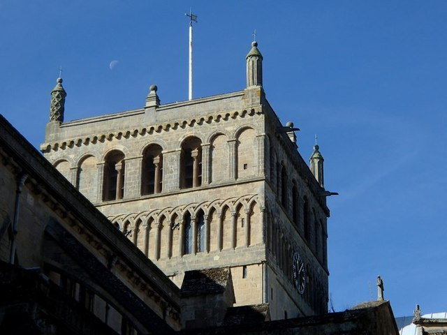 Central tower of Southwell Minster