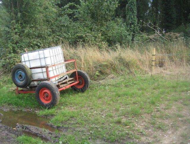 Trusting farmer