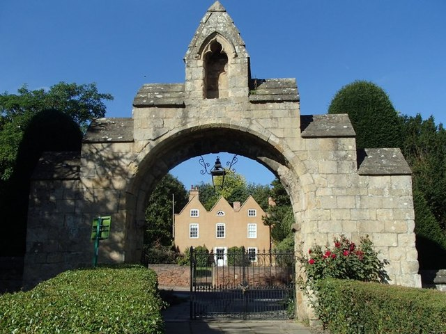 Gateway to Westgate from the minster grounds