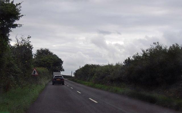Approaching Anvil corner on A3072