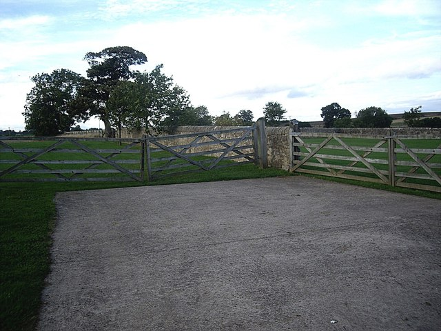 Two pairs of field gates