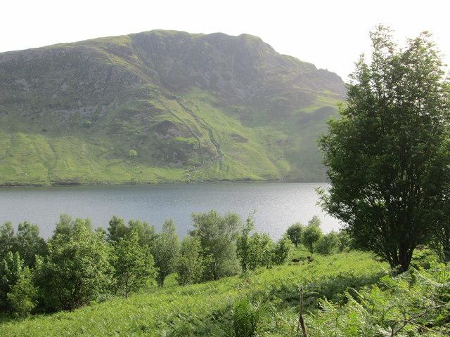 Crag Fell across Ennerdale Water