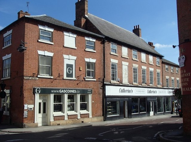 Junction of Church Street, Southwell