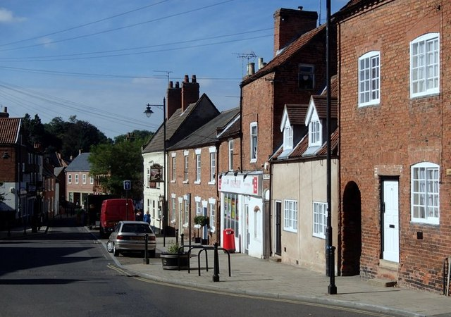 King Street, Southwell - towards the town centre